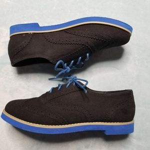 Bamboo Women's Shoes Size 7 Black Blue